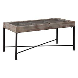 Signature Design by Ashley – Shellmond Accent Cocktail Table – Casual – Antiqu ...
