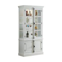 ACME Iovius Curio Cabinet – 90300 – White
