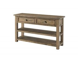 Martin Svensson Home Monterey Solid Wood Sofa Console Table Reclaimed Natural