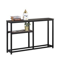 sogesfurniture Entryway Console Sofa Couch Table Sofa Table Console Table for Entryway Accent Wa ...