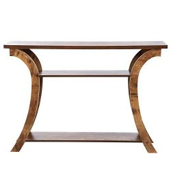 OMISHOME Console Table – Beautiful Entryway Table with Rustic Finish – Premium Quali ...