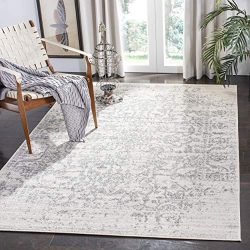 Safavieh Madison Collection MAD603G Vintage Medallion Distressed Area Rug, 8′ x 10′, ...