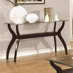 Coaster Home Furnishings Sofa Table, Cappuccino