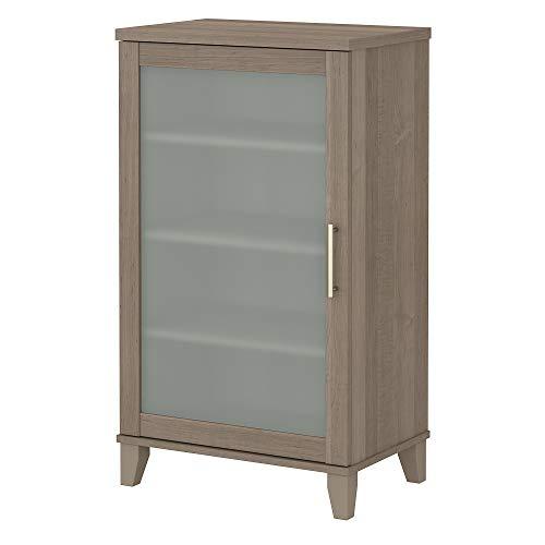 Bush Furniture AD81640 Somerset Media Storage Cabinet, Ash Gray