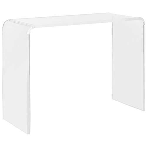 Safavieh Home Collection Atka Console Table, Clear